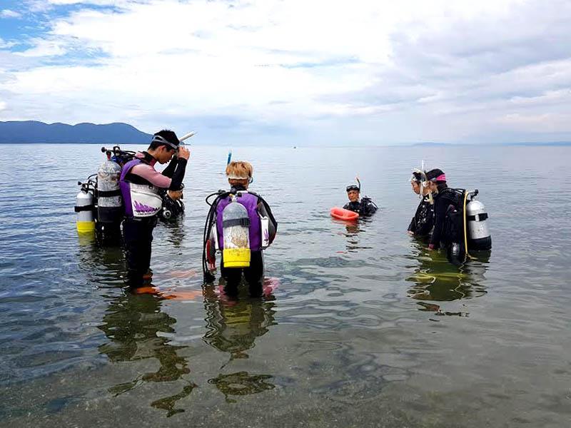 Working Holiday Job in a Scuba Diving School in Shizuoka